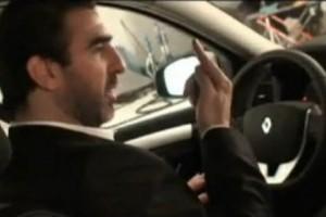 VIDEO: Eric Cantona promoveaza Renault Laguna
