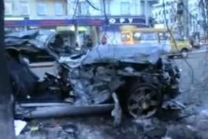 VIDEO: Accident teribil intr-o intersectie din Rusia