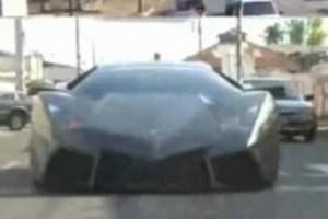 VIDEO: Replica fidela Lamborghini Reventon