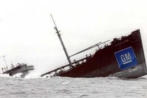 Seful GM anunta falimentul