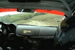 VIDEO: Senzatii la raliu dintr-un Mitsubishi EVO X