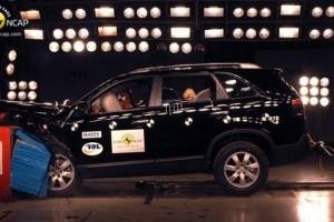 Noul Kia Sorento a luat 5 stele la testele Euro NCAP