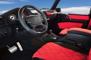 Mercedes G55 AMG, preparat de Hamann!