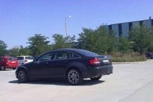 Audi A6 C7 surprins in teste in Romania!