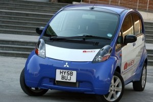 Test-drive cu prototipul electric Mitsubishi i-MiEV