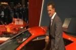 VIDEO: Michael Schumacher a prezentat Ferrari 458 Italia la Frankfurt