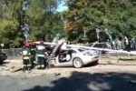 VIDEO: Accident cu Mercedes SLR McLaren