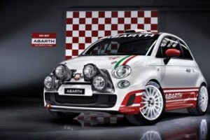 Fiat 500, marca Abarth, oficial la raliuri