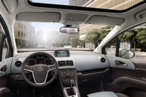 Iata interiorul noului Opel Meriva!