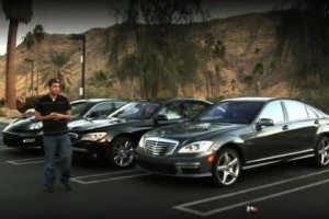 VIDEO: BMW 760Li vs. Mercedes S63 AMG vs.Porsche Panamera