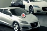 VIDEO: Honda CR-Z Hybrid Sports Coupe