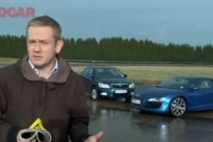 VIDEO: Audi R8 V10 vs. Skoda Octavia 1.4