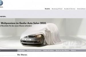 Primul teaser cu Volkswagen Sharan
