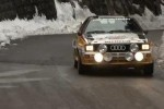 VIDEO: Walther Rohrl conduce un Audi Quattro in Raliul Monte Carlo