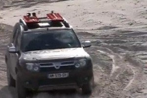 VIDEO: Dacia Duster se antreneaza pentru Raliul Gazelelor
