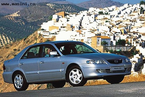 Mazda 626, Numar usi