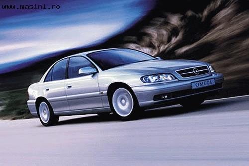 Opel Omega, Numar usi