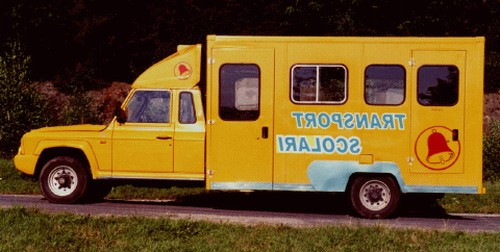 Aro 429 transport scolari, Numar usi