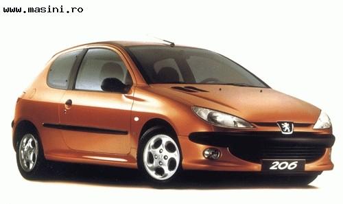 Peugeot 206 (3 usi), Numar usi