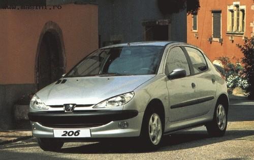 Peugeot 206 (5 usi), Numar usi
