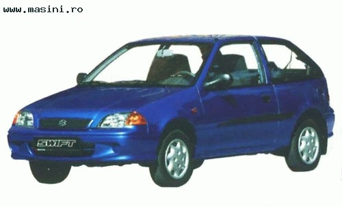 Suzuki Swift (3 usi), Numar usi