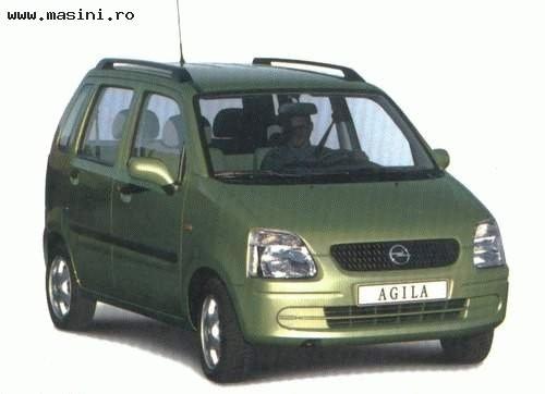 Opel Agila, Numar usi