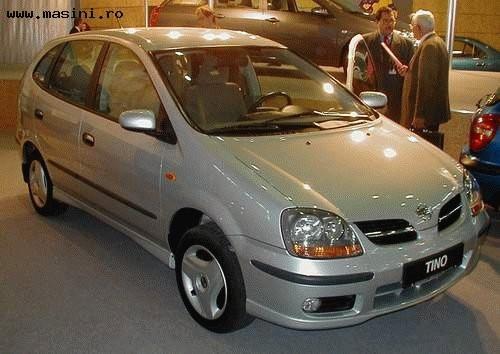 Nissan Tino, Numar usi