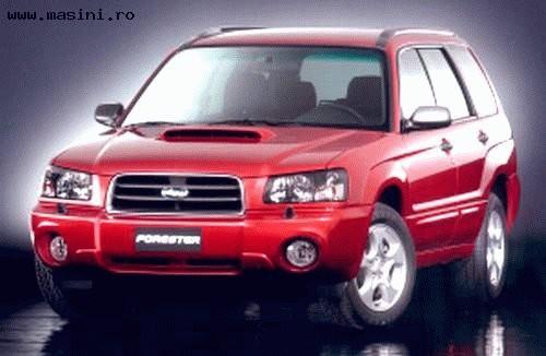 Subaru Forester AWD, Numar usi