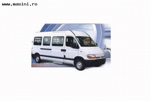 Renault Master Bus, Numar usi