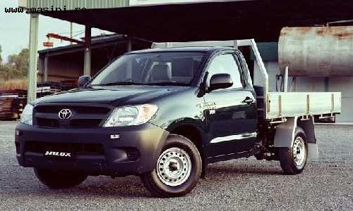 Toyota Hilux Cabina simpla, Numar usi