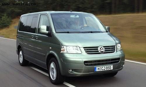 Volkswagen Multivan Comfortline 2004, Numar usi