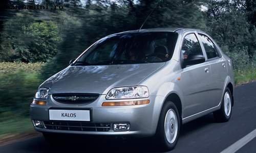 Chevrolet Kalos, Numar usi