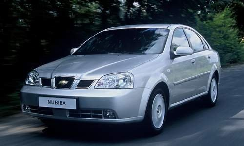 Chevrolet Nubira, Numar usi