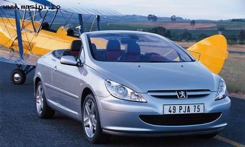 Peugeot 307 CC, Numar usi