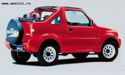 Suzuki Jimny Canvas Top, Numar usi