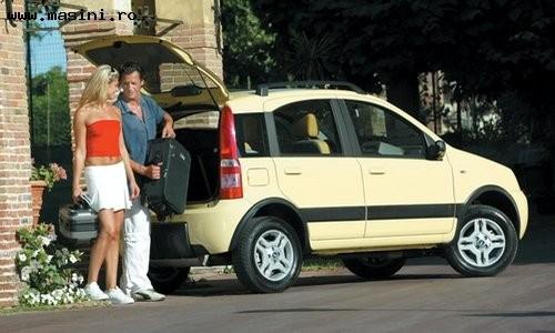 Fiat Panda 4x4, Numar usi