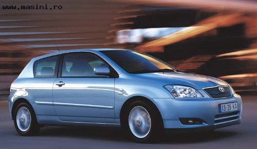 Toyota Corolla 3 usi, Numar usi