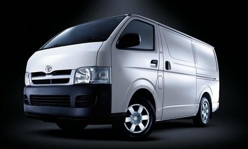 Toyota Hiace Panel Van SWB, Numar usi