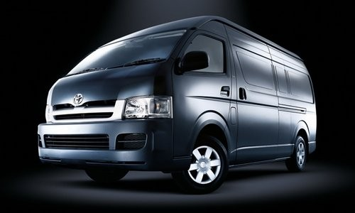 Toyota Hiace Panel Van LWB, Numar usi