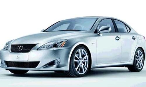 Lexus IS 250, Numar usi