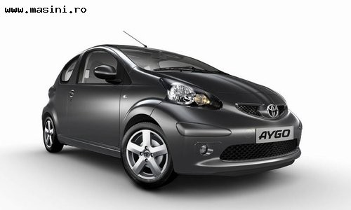 Toyota Aygo 3 usi, Numar usi
