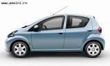 Toyota Aygo 5 usi, Numar usi
