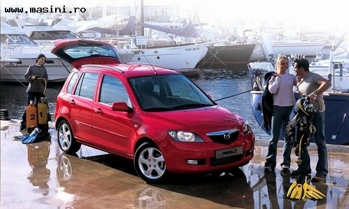 Mazda 2, Numar usi