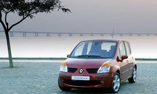 Renault Modus, Numar usi