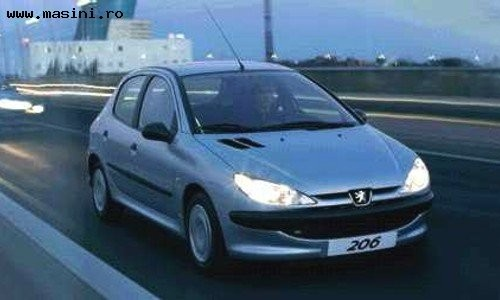 Peugeot 206 5 usi, Numar usi