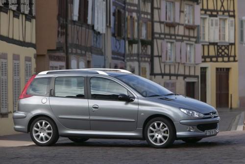 Peugeot 206 SW, Numar usi