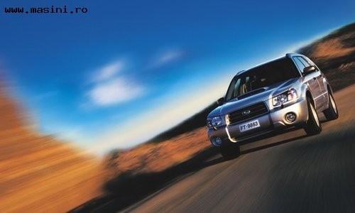 Subaru Forester, Numar usi