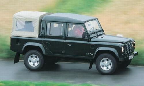 Land Rover Defender 110 Crew Cab, Numar usi