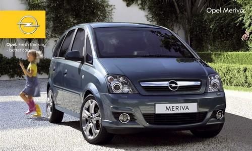Opel Meriva, Numar usi