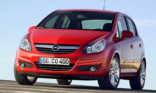 Opel Corsa (5 usi), Numar usi
